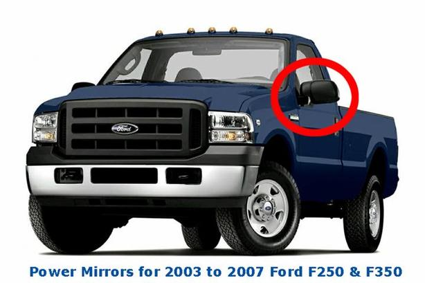 Power Mirrors ~ Ford F250/F350   .