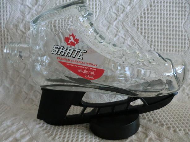 Skate whisky bottle $3.00.
