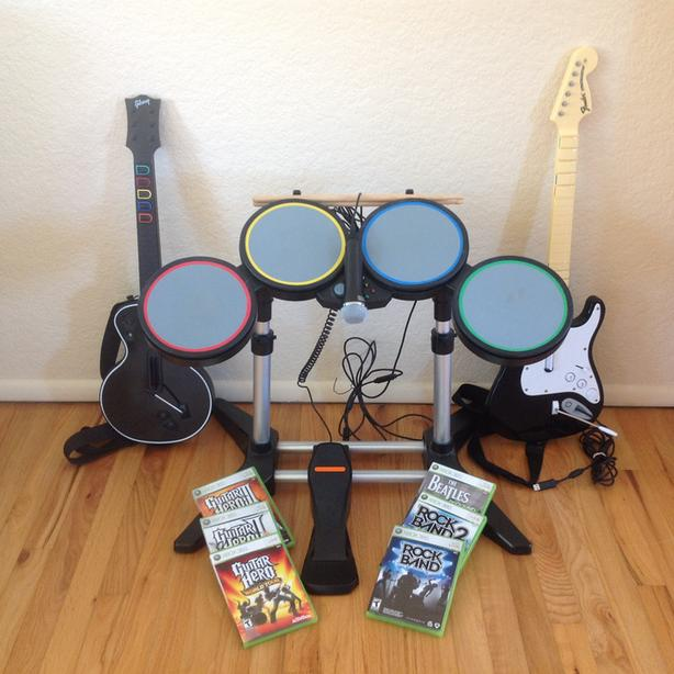 Will a rock band kick pedal work with guitar hero