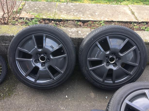 Custom Powder Coated VW rims