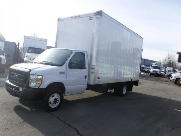 2018 Ford E-450 16 Foot High Cube Van with Power Tailgate