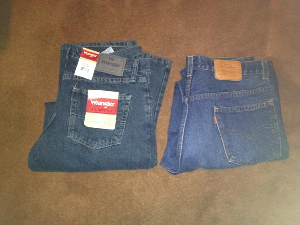 2 pair of Brand new Blue Jeans