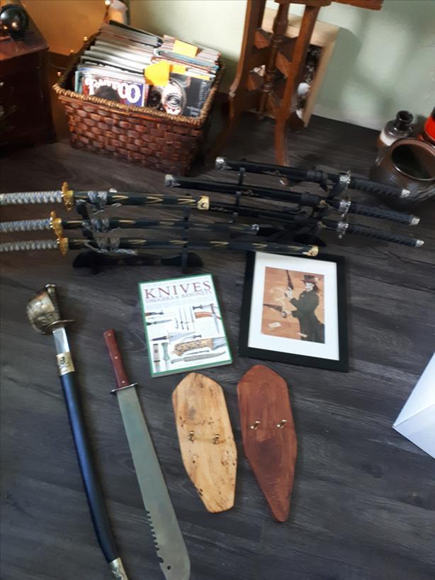 03c4a1a2de Sword Collection (& misc other items) Esquimalt & View Royal ...