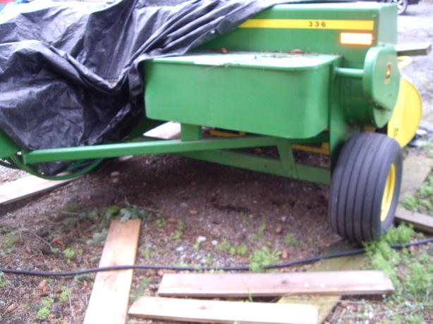  Log In needed $7,500 · John Deere 336 Baler