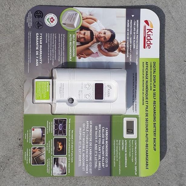 Kidde  Carbon Monoxide Sensor