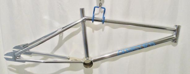 """nos oldschool 1989 Boss / L&S pro xxl 20"""" bmx race frame fork"""