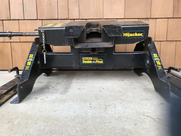 5Th Wheel Hitch For Sale >> Log In Needed 500 Hijacker Double Pivot Fifth Wheel Hitch