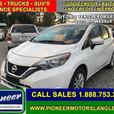 2017 Nissan Versa Note SV  - Bluetooth -  Heated Seats - $100.29 B/W