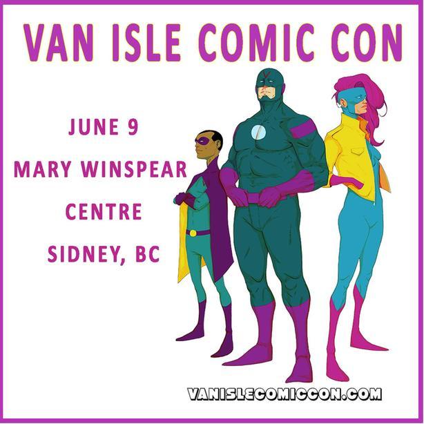 Van Isle Comic Con