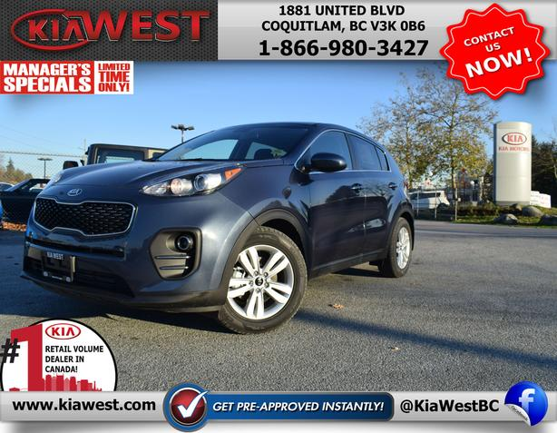 2019 Kia Sportage LX 2.4L - MANAGER SPECIAL