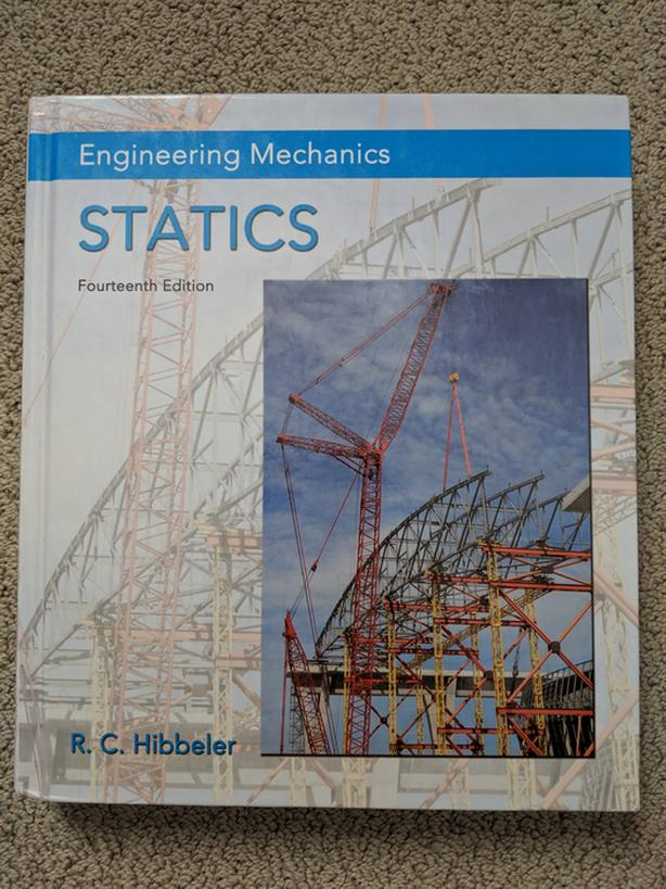 Engineering Mechanics: Statics (Hibbeler, 14th Edition
