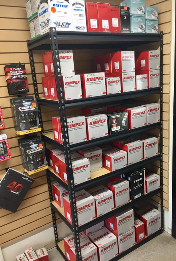 Tuff City Powersports in Nanaimo has your batteries in stock!