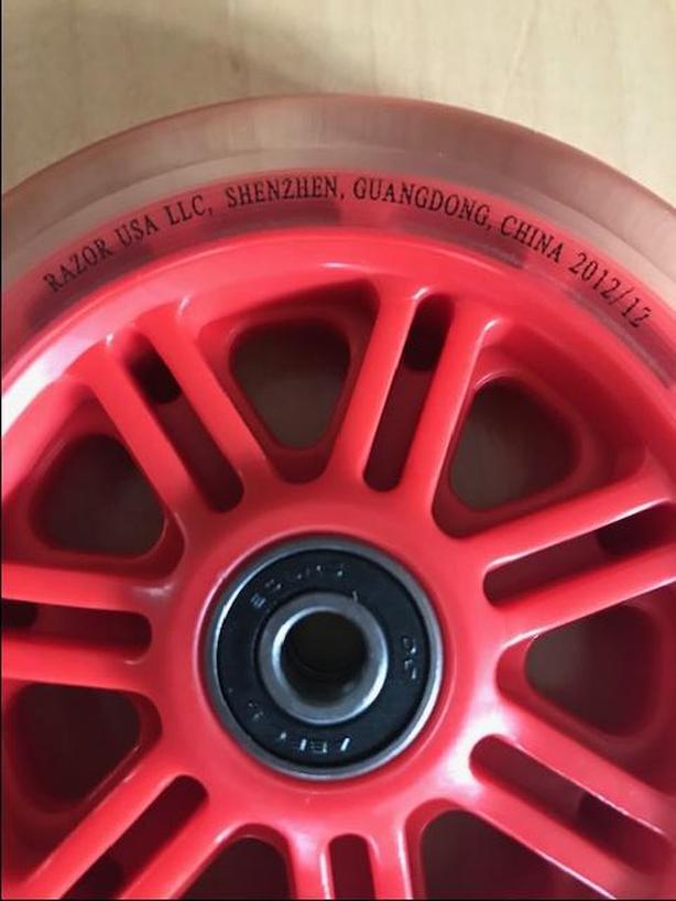 Razor Kick 125 mm replacement wheels, pair