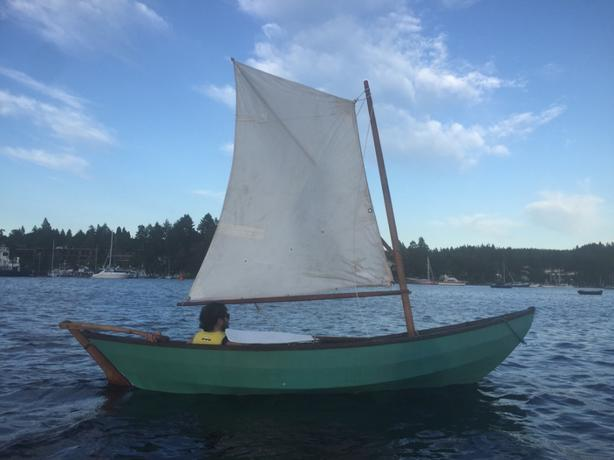  Log In needed $900 · 14' sailing dory