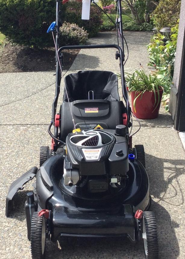 Lawnmower - 'NEW', CRAFTSMAN 190cc, Self- driving, key start