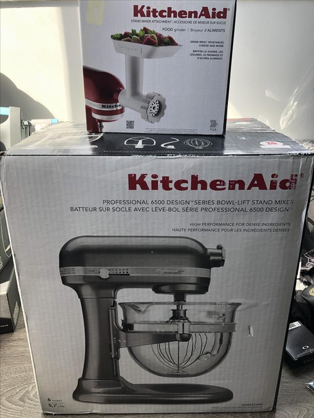 Enjoyable 400 Kitchenaid Stand Mixer Professional 6500 Design Series Brand New Home Interior And Landscaping Ponolsignezvosmurscom