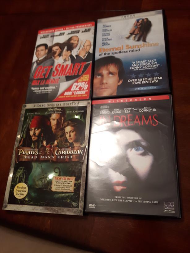4 DVD's