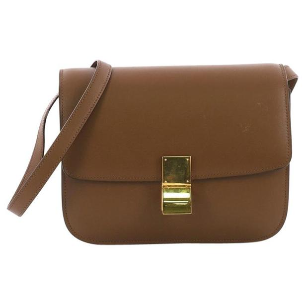 multiple colors better price for On Clearance celine classic box bag(brown) Victoria City, Victoria