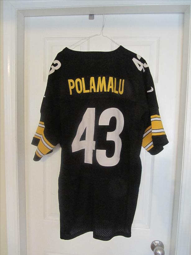 low priced 2f64e 23d5f Troy Polamalu Steelers Nike Jersey. Size 56. All stitched ...