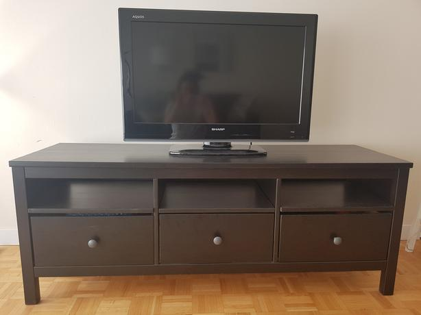 IKEA Hemnes TV Stand (includes TV)