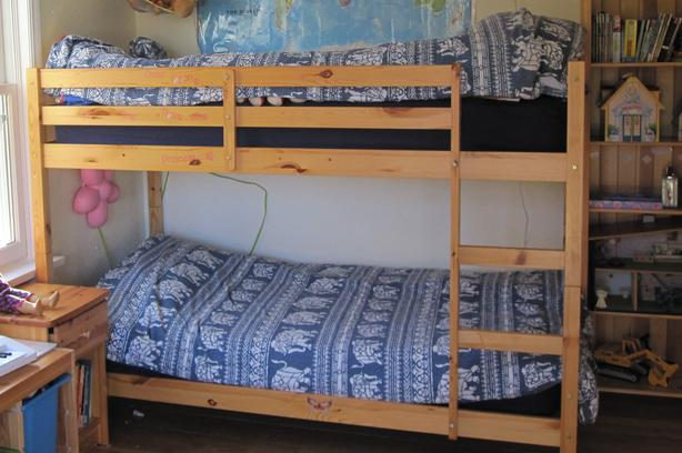 Pine Bunk Bed - No Mattresses