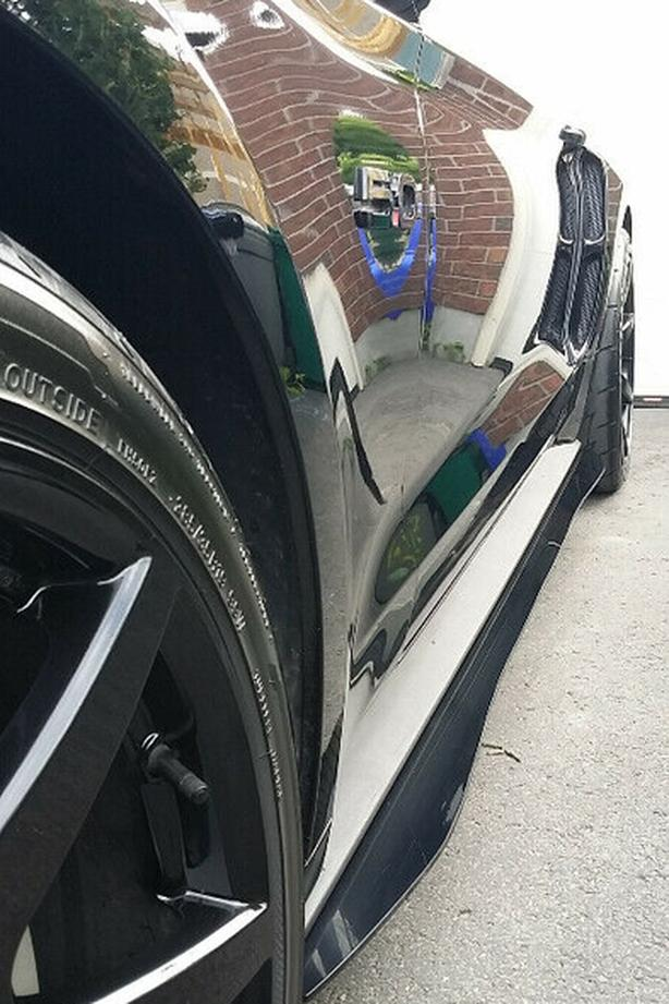 2015-2019 Ford Mustang S550 Side Skirt Extensions (SALE $150)