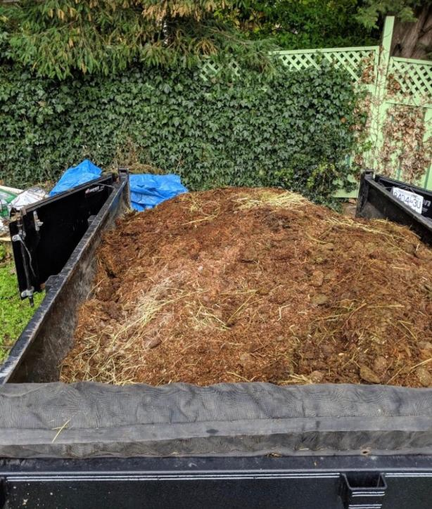 Manure for your garden!