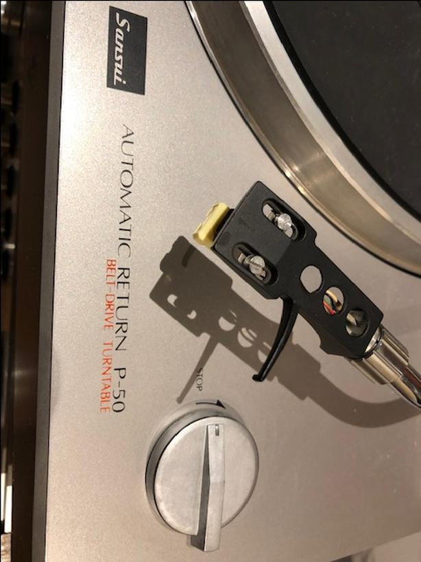 FOR THE SANSUI P-50 TURNTABLE DRIVE BELT