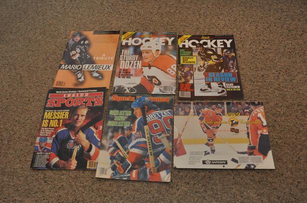 Various Hockey Magazines