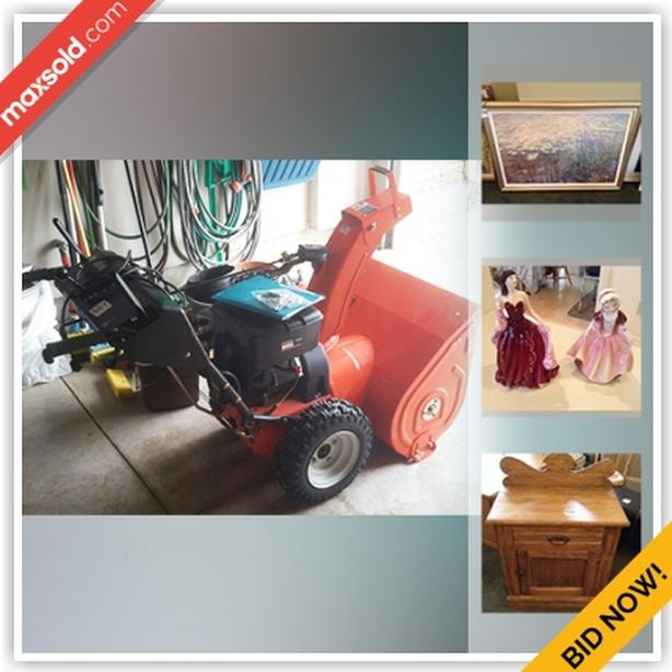 St. Catharines Moving Online Auction - Timber Lane