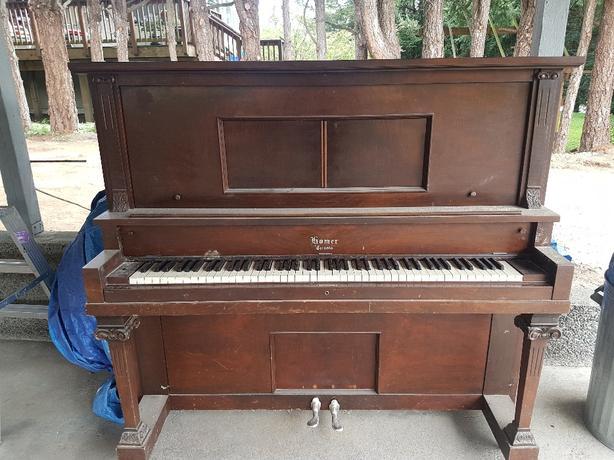 FREE: upright grand piano Saanich, Victoria