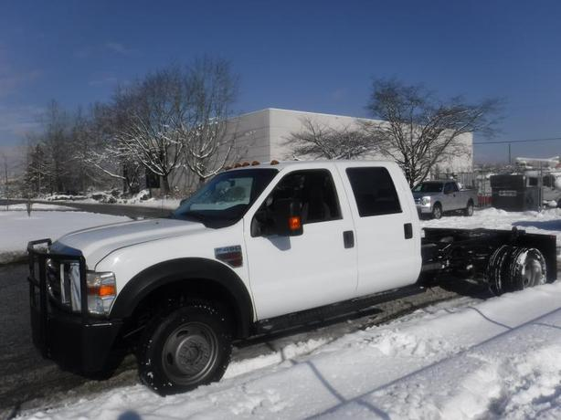 2010 Ford F-450 SD XL Crew Cab 4WD Cab and Chassis Diesel