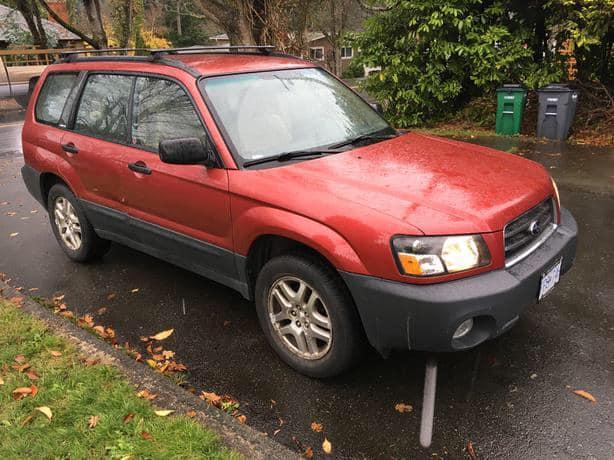 2003 Subaru Forester AWD