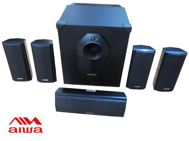 5.1 Surround Sound Speaker System ~ Aiwa