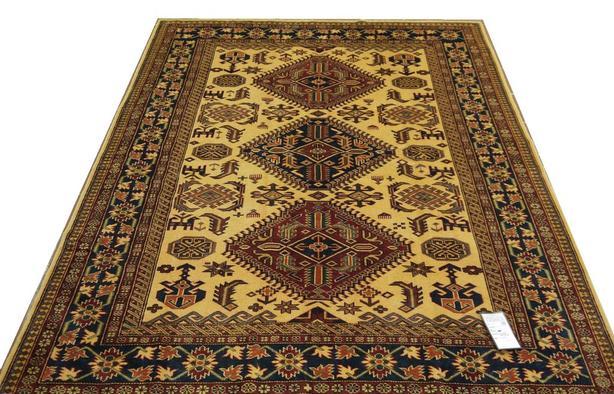 19385-Royal Shirvan Handmade/Hand-knotted Afghan Rug