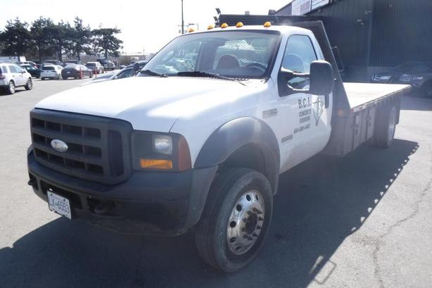 2007 Ford F-450 SD Regular Cab 2WD 16 Foot Flat Deck Diesel