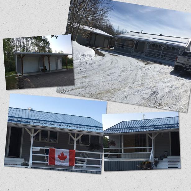 Home w huge garage-Gull Lake-Sunnyside