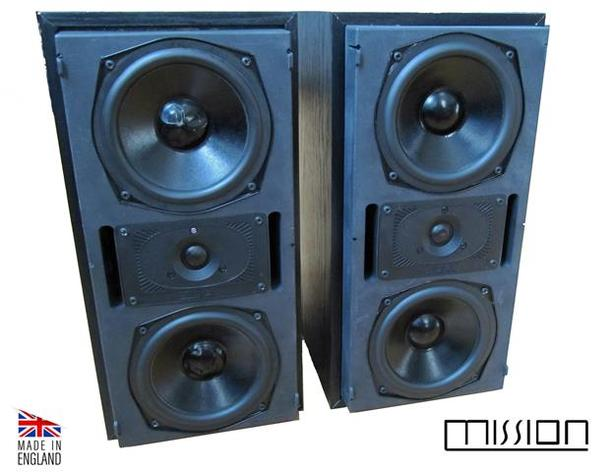 Mission 761i bookshelf speakers
