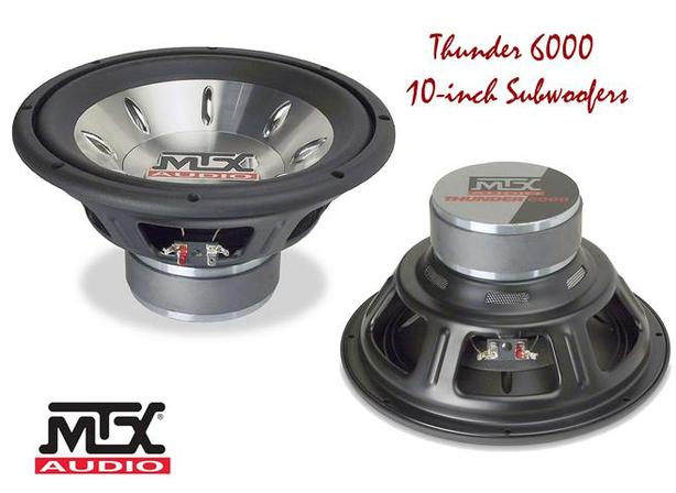 10-inch Subwoofers ~ MTX Thunder 6000