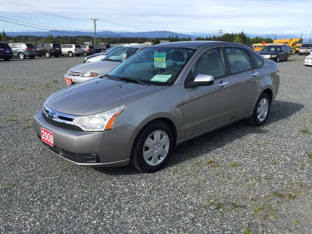 2008 Ford Focus SE Sedan, Only 107,127Kms, Good On Gas, 2.0L 4CYL
