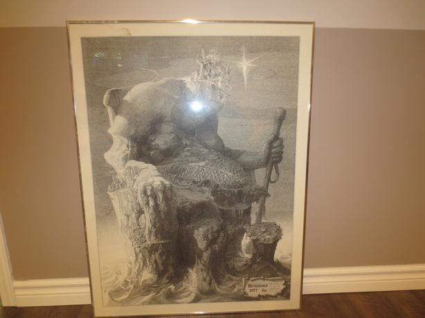 Britannia Print by Malli