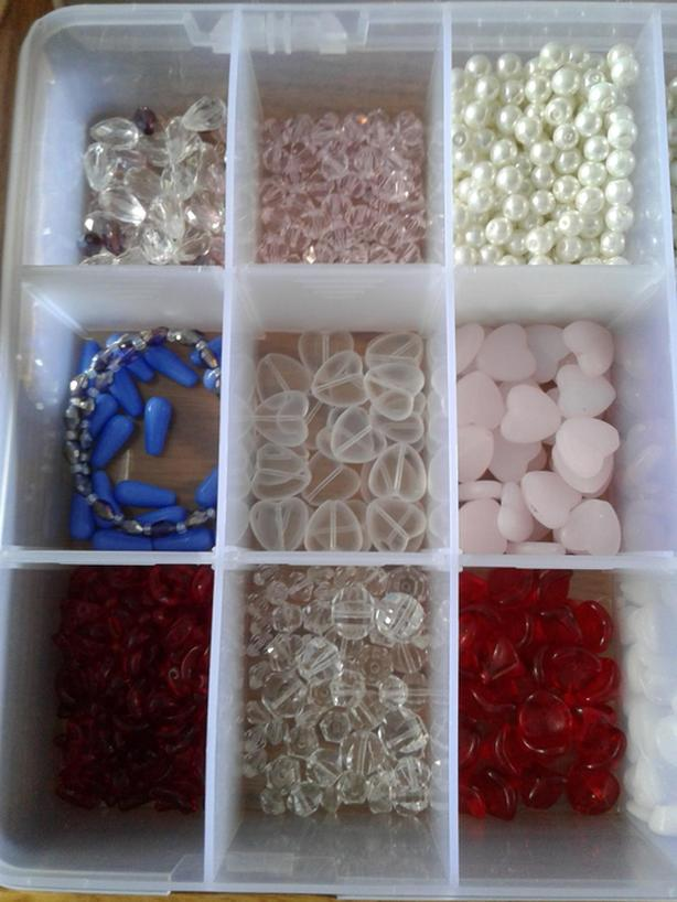 CASE OF BEADS... MIXED