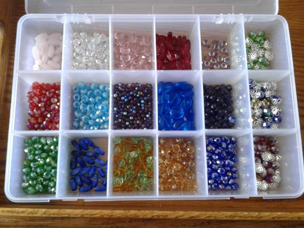 Case of beads
