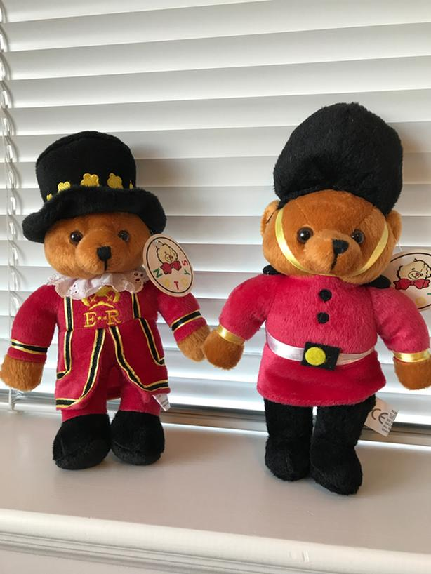 Set of 2 Bears from London, England