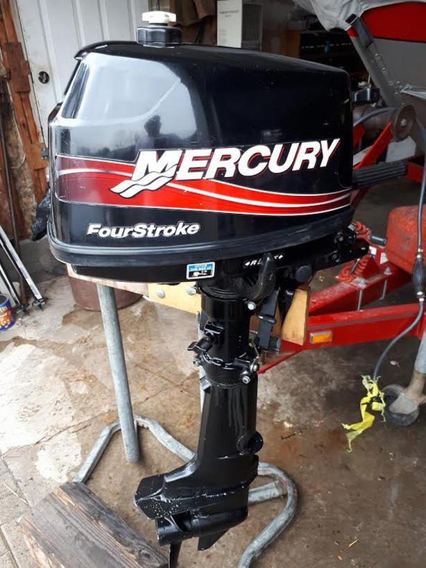 $800 · 2005 Mercury 4 HP , 4 stroke outboard motor