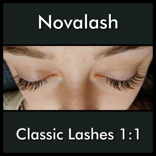 NOVALASH Classic, American Volume, and Lash Lifts and Tints