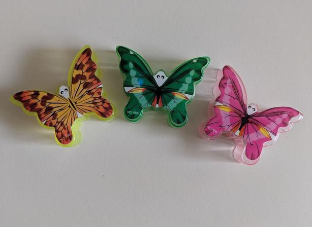 cute butterfly sharpeners
