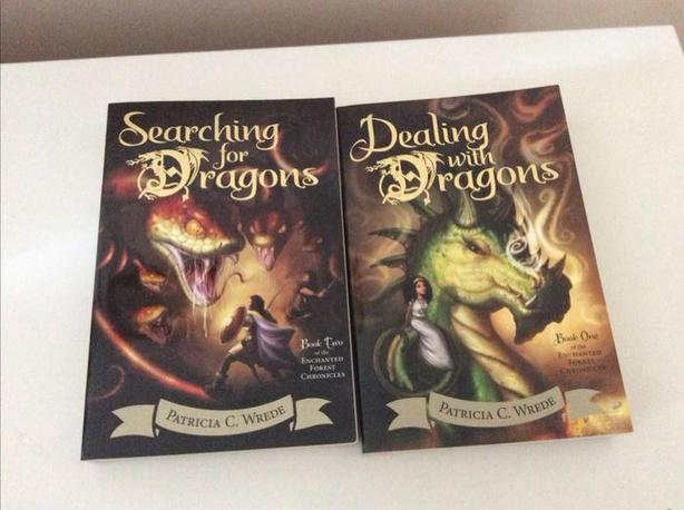 Brand New,, Dealing with Dragons series, books 1-4