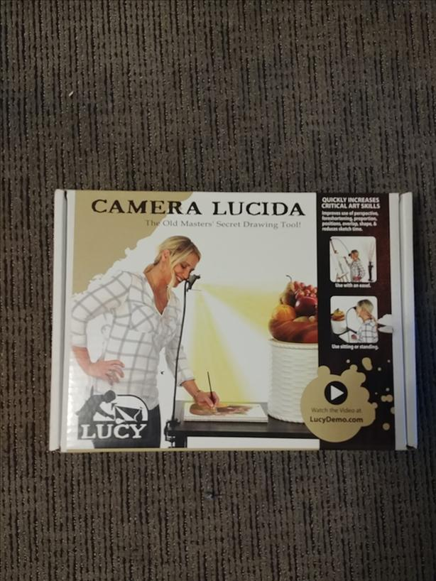 Camera Lucida Painting with shadows NEW $95 OBO