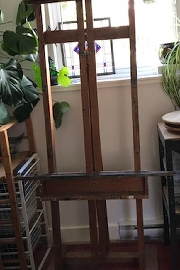 Large Wooden Easel